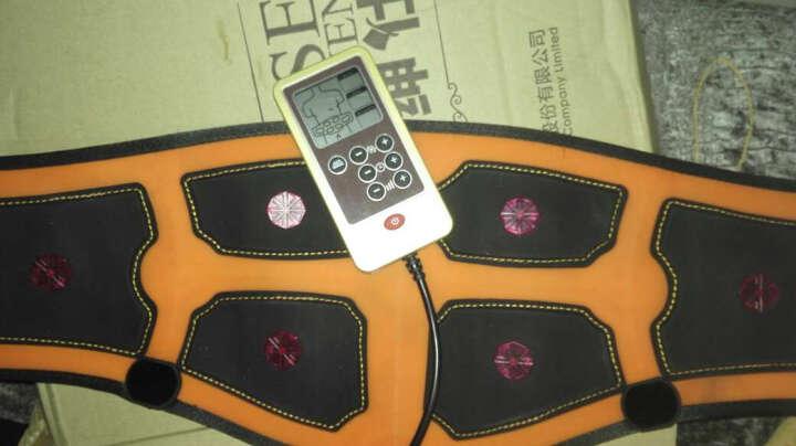 倍达康 BK111A腰部按摩器理疗仪腰椎 充电式 热敷 低脉脉冲电疗仪 腰疼护腰带 橙色 晒单图