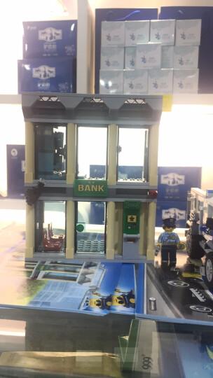 乐高(LEGO)积木 城市组系列City推土机抢银行5-12岁 60140 儿童玩具 男孩女孩生日礼物 晒单图