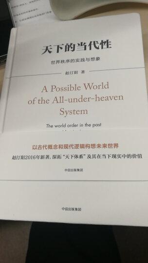 天下的当代性:世界秩序的实践与想象 晒单图