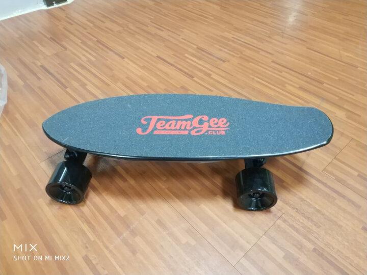 TEAMGEE天机 电动四轮滑板 男女儿童智能无线遥控长板刷街板枫木滑板代步滑板车 终极版H6L(36v双驱win全能+超低地盘) 晒单图