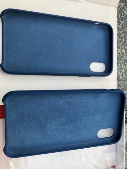 飚爱 iPhonex手机壳全包防摔 苹果10硅胶软壳超薄轻奢磨砂保护套男女款 【液态硅胶款 】红色新款 晒单图