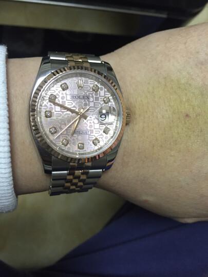 【二手95新】Rolex/劳力士日志型 18K玫瑰金 自动机械 男表手表回收置换 116231粉盘  晒单图