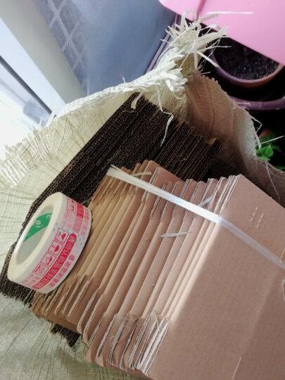 邮政纸箱5-12纸盒子快递纸箱定做包装盒物流打包搬家纸箱飞机盒包装箱快递盒子网店纸箱瓦楞纸 8号 3层 长21CM*宽11CM*高14CM 晒单图