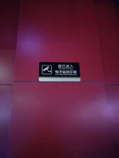 亚克力台牌温馨提示牌安全指示牌 墙贴标示牌标识牌 节约用电 随手关灯 晒单图