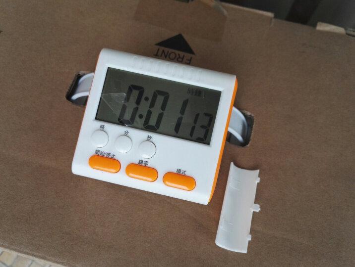 贝芙丽 大声音屏幕电子定时器  厨房提醒器 倒计时器 可爱闹钟定时钟 黑色 晒单图