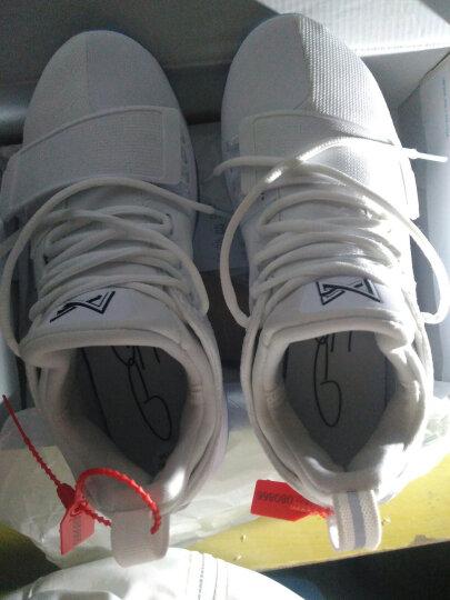NIKE PG1断钩 2K实战篮球鞋男Nike耐克保罗乔治1代 象牙白878628全明星 军绿911084-200 43 晒单图