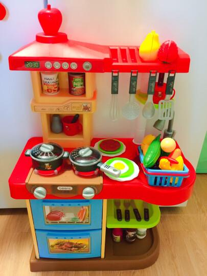 贝恩施 儿童玩具过家家玩具女孩男孩玩具角色扮演套装 加大升级款厨房 红色+送切切乐 晒单图
