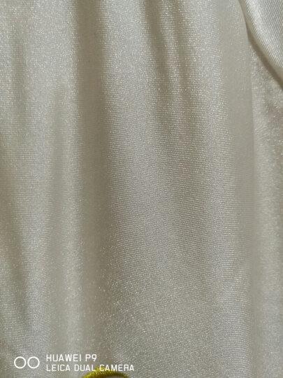 李宁太极服男女春夏武术服练功服太极拳服装健身气功服晨练服表演服套装 入门级   黑色M 晒单图