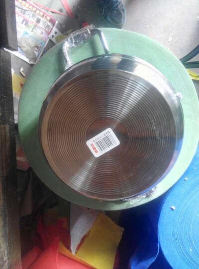 嘉能不锈钢蒸锅28-32cm复底二层三层四层蒸屉 煤气电磁炉通用 28cm(美式三层) 晒单图