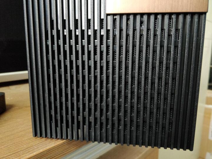 鑫谷(segotep) 雷诺塔mini土豪金机电套装(带额定220W电源/MATX主板/标配电源/家用办公小型化个性机箱) 晒单图