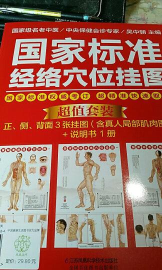 健康爱家系列:国家标准经络穴位挂图 晒单图