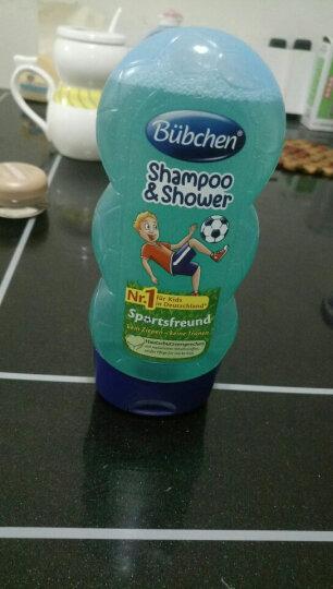 德国宝比珊Buchen原装进口儿童婴儿洗发水沐浴露面霜润肤防晒霜 儿童洗发水沐浴露二合一足球小子 230ML 晒单图