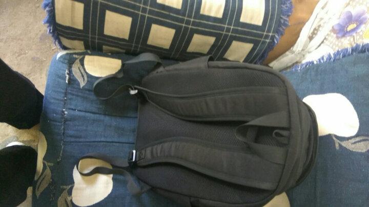 安踏运动双肩包 17年新款运动休闲包 校园书包学生包 旅行双肩包99738153 黑色-1 晒单图