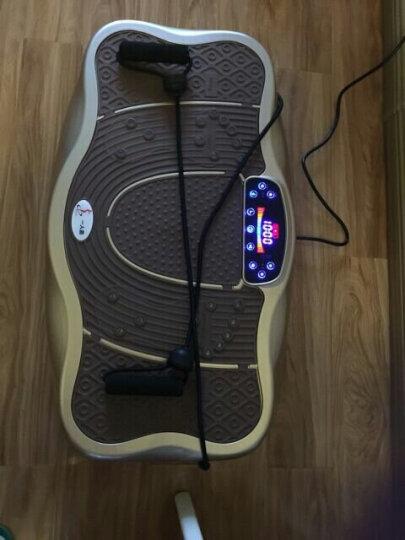 梵歌纳甩脂机抖抖机家用运动瘦身机懒人健身减肥器材瘦腿瘦腰减肚子 74CM大尺寸/液晶彩屏/卡路里显示/奢华金 晒单图