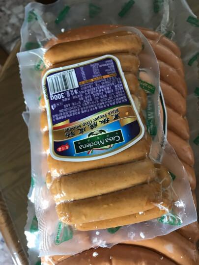 卡萨莫迪娜(Casa Modena)法兰克福香肠 德国烤肠 1kg (约21根)/包 晒单图