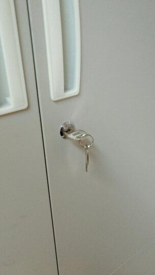 文件柜锁芯连杆 天地拉杆锁 储物柜锁 柜子锁 转舌锁 铁皮柜锁 锁芯 连杆锁芯正心锁长16mm 晒单图