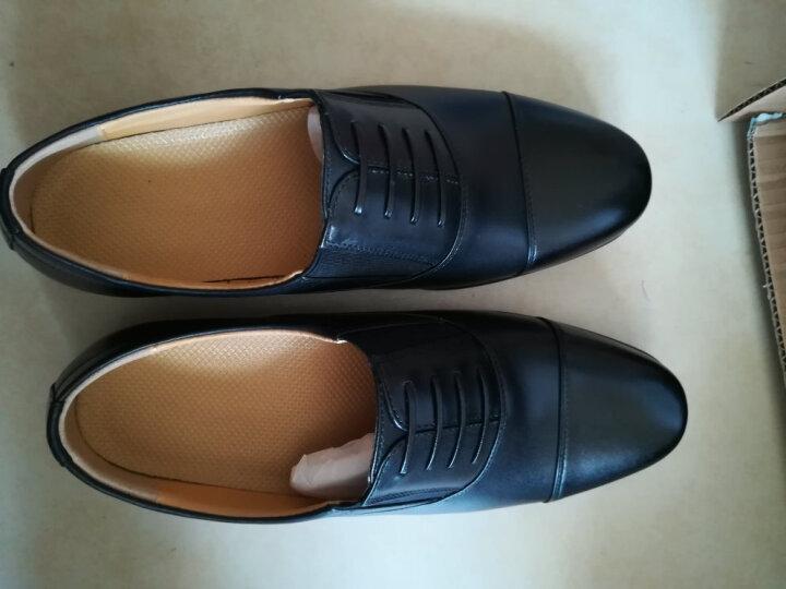 3515三接头军鞋 男士商务皮鞋 军官校官常服皮鞋 军迷用鞋 军迷服饰 07B常服皮鞋 43码 晒单图