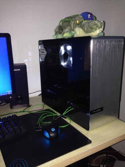 迎广(IN WIN)901 银色 迷你机箱(支持MINI ITX主板/铝合金/钢化玻璃/双面侧透/USB3.0 *2 ) 晒单图