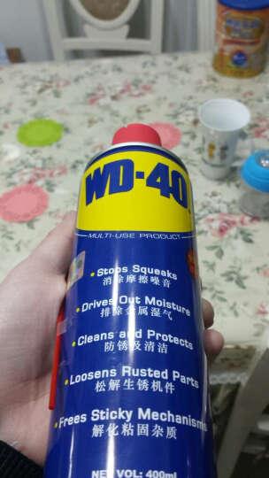 WD40除锈剂车门车窗电动润滑剂防锈剂螺丝松动剂清洗剂防锈油WD-40润滑油金属强力润滑油神器 200ml+赠送四件实用礼品 晒单图