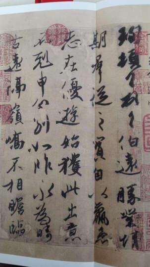 中国最具代表性书法作品 黄庭坚 松风阁(第二版) 晒单图