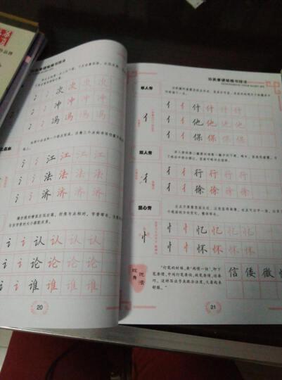 田英章硬笔楷书技法(附光盘万卷专业书法教材) 晒单图