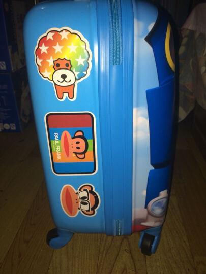 唯尔亿(we)儿童旅行箱万向轮拉杆箱18寸男女行李箱宝宝可爱卡通小箱子20寸拖箱亲子拉杆箱 002款多啦A梦100周年 19寸适合3-7岁使用 晒单图