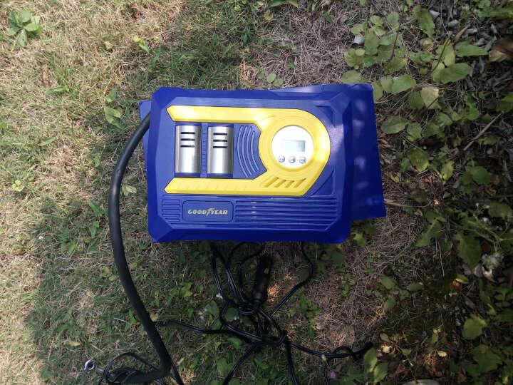 固特异 双缸汽车车载充气泵 电动车用大功率12V自动 打气泵便携式  晒单图