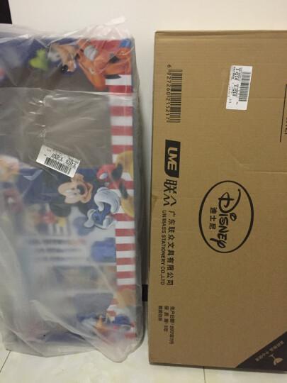 迪士尼(Disney)小学生14件套书包文具礼盒套装大礼包女儿童学习用品DM20507N 晒单图