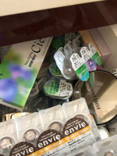 日本直邮Ciel UV日抛30片装 美瞳彩色隐形眼镜直径14.2mm 2#CielBeige棕色 300 晒单图