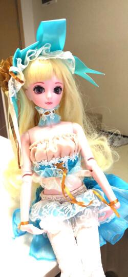 叶罗丽娃娃正品仙子夜萝莉衣服鞋子凤玲珑叶萝莉冰公主洋娃娃女孩玩具生日礼物 蓝星宝石x2衣1鞋 晒单图