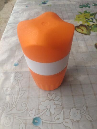 克欧克 手动榨汁机水果榨汁器家用水果压汁机器专业榨橙器婴儿迷你挤汁器橙子 阳光橙色 晒单图