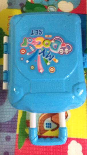 克雷格(KELEIGE) 儿童医生玩具套装仿真大号女孩护士听诊器医生手提箱 蓝色手提箱 晒单图