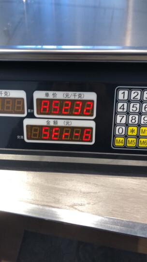来钱快 电脑秤收银秤称232串口秤通讯秤ACS-AB系统计价秤电子秤 黑色 晒单图