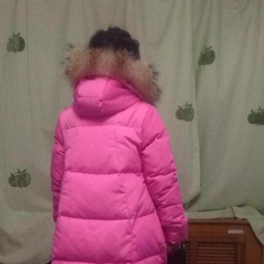 水无香淘儿童羽绒服女童中长款女大童羽绒服童装冬装韩版加厚外套S8803 粉色622 150建议身高150-160cm 晒单图
