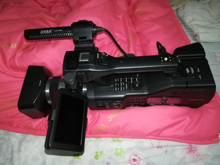 索尼(SONY)专业摄像机 NEX-FS700RH全画幅摄录一体机 官方标配 晒单图