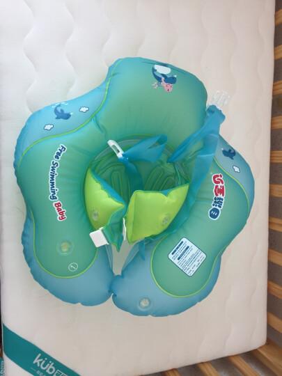 儿童游泳圈 儿童婴儿游泳圈宝宝新生儿趴圈宝宝救生衣圈腋下圈0-1岁 1-3岁趴圈戏水玩具防翻防呛水 S(适合偏瘦体型,大概9-13斤) 晒单图