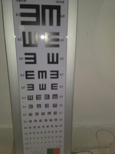 ZHENG HE 视力表标准视力灯箱铝合金对数视力对照表5米儿童成人2.5米卡通图案 5米E字款 晒单图