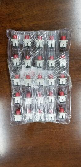 荣视通(RONGSTO) 单双工光纤耦合器sc/fc/st/lc头法兰盘光纤适配器电信级 MPO光纤跳线法兰耦合器 100个 晒单图