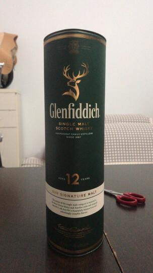 危【侠风旗舰店】格兰菲迪(Glenfiddich)单一麦芽威士忌 原瓶进口洋酒烈酒 格兰菲迪12年 晒单图