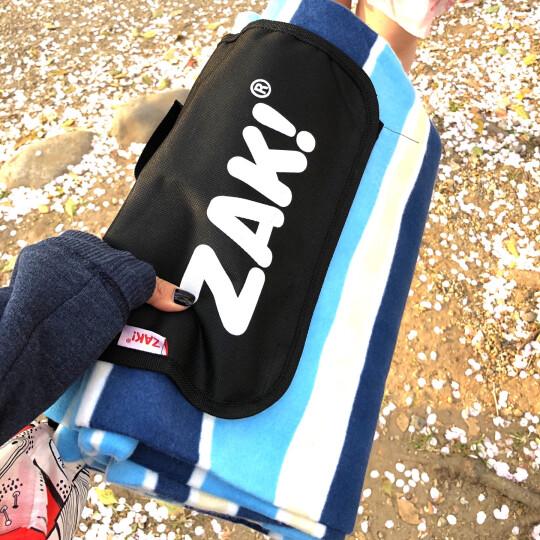 ZAK!野餐垫户外野餐布加厚防潮垫防水帐篷垫子 蓝条纹150*200cm zak-x610507 晒单图