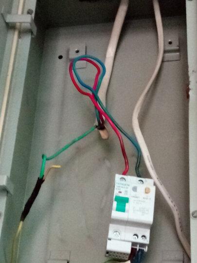 天正电气 空气开关 TGB1NLE-32 1P+N D 20A 30mA 01070230052 微型漏电保护断路器 晒单图