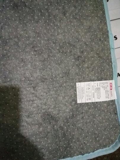 地毯客厅卧室防滑厨房机洗家用茶几地毯床边毯满铺垫法来绒 天蓝色 定制90/平方联系客服 晒单图