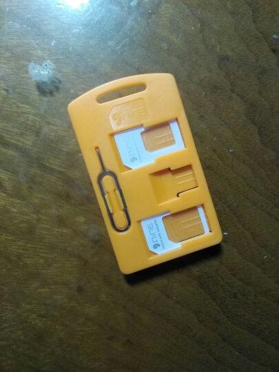 G-WACK 手机Sim卡还原卡套 Micro/Nano sim转换卡托卡槽 适合苹果iPhone4/5/6S三星华为 黑色 晒单图