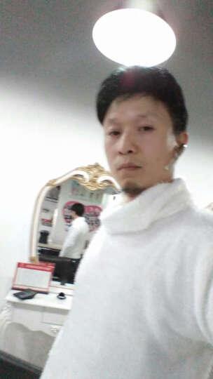 尼登诺  冬季2018新款男士韩版修身黑色套头高领毛衣男装加厚针织打底毛衫 黑色 M 晒单图