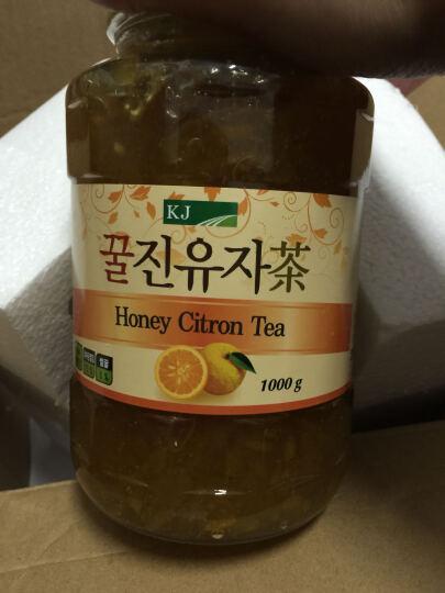 韩国KJ柚子茶蜂蜜柚子茶水果茶1kg冷饮热饮皆可 送女友送小孩礼物  晒单图