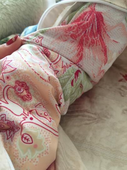富安娜家纺 鹅绒被冬被芯被子鹅绒被子双人羽绒冬厚被 立体白鹅绒被 1.8m(230*229cm) 晒单图