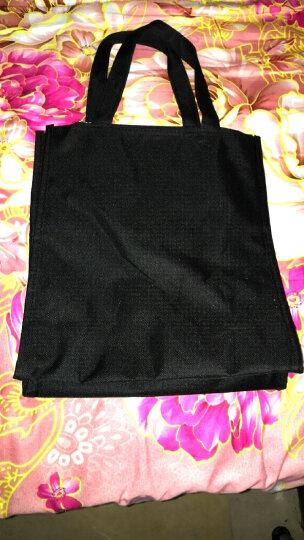防水帆布补习包手提袋 补习袋小学生书袋 补课包美术包袋子小拎包 玫红漂亮女孩 晒单图