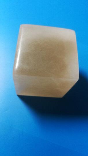 金石印坊 昆仑冻石平头方章  六种尺寸可供选择  单枚售  配锦盒 篆刻练习石 4*4*4CM 晒单图