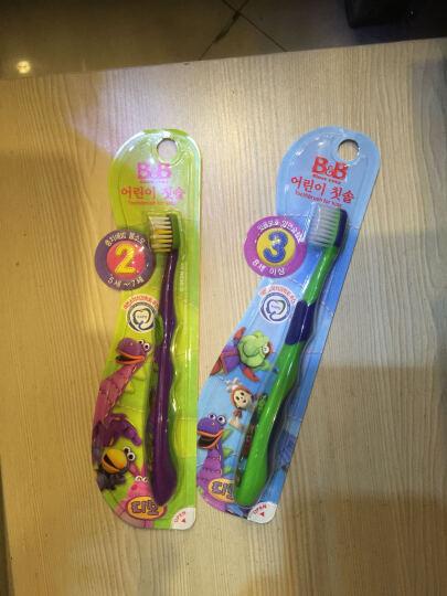 保宁 B&B 儿童牙刷 3段 8岁以上 韩国 1支/盒 晒单图