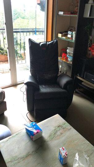 LITEC 久工多功能家用全身太空舱零重力全自动智能电动沙发商务按摩椅子LC5000 黑色 升级皮革款 晒单图